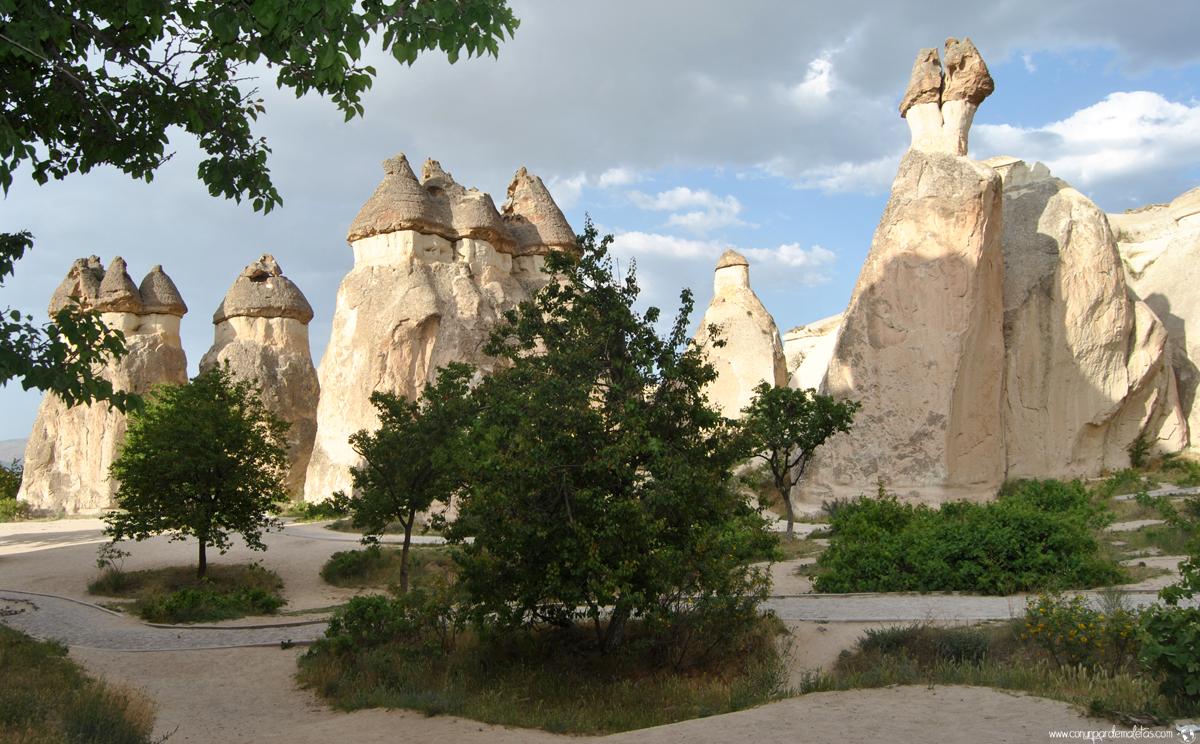 Pasabag o Valle de los Monjes, Capadocia. Turquia