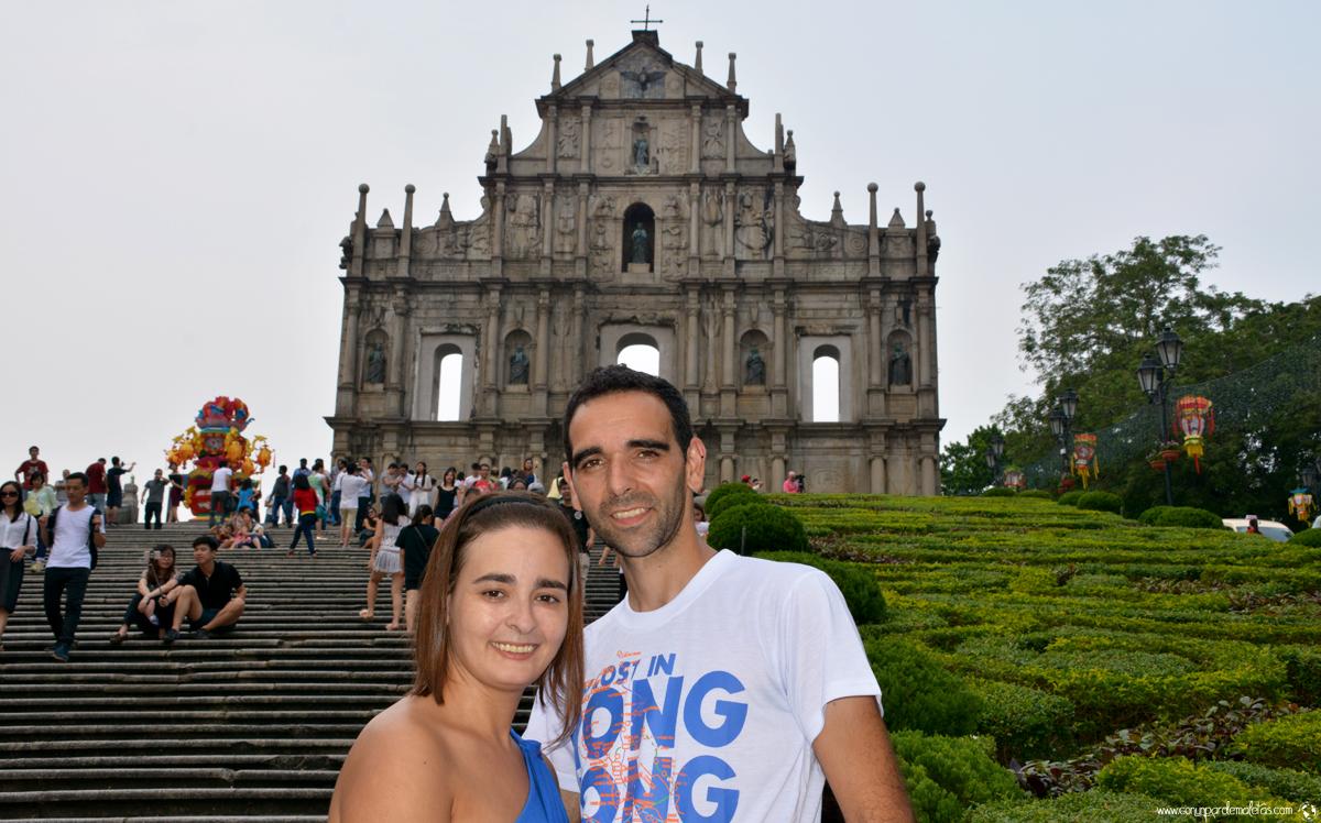 Ruinas de la Catedral de San Pablo, Macao