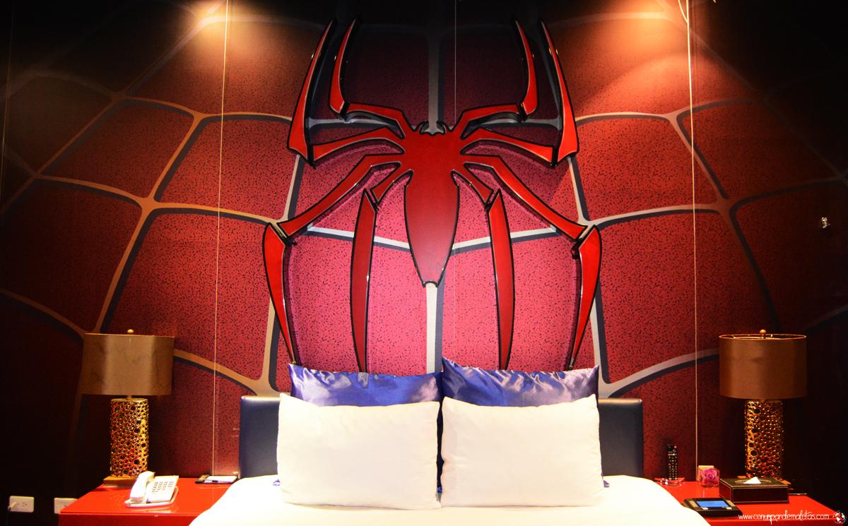 Una experiencia muy peculiar en la habitación de Spiderman, Taipei