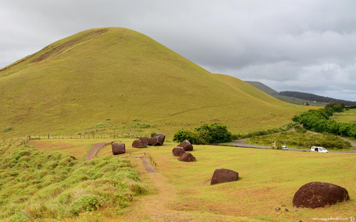 Volcán Puna Pau, Isla de Pascua