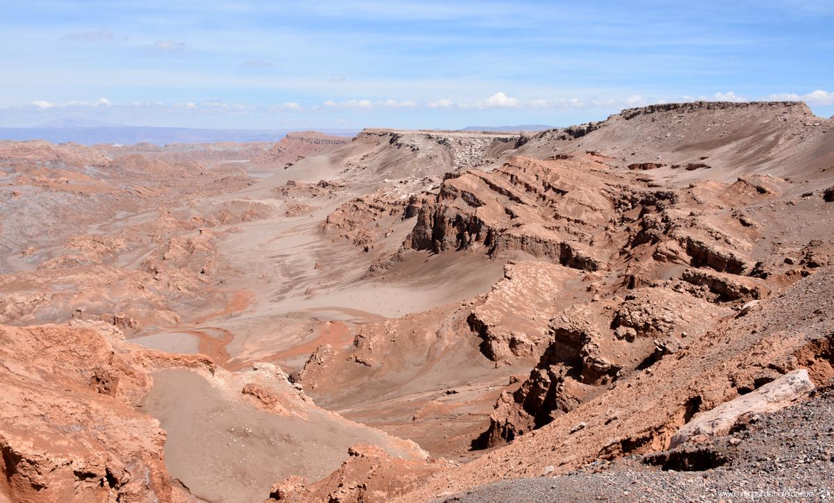 Valle de la Luna, San Pedro de Atacama. Chile