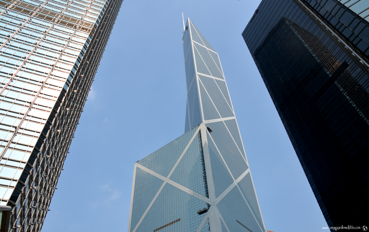 Torre del Banco de China, Hong Kong
