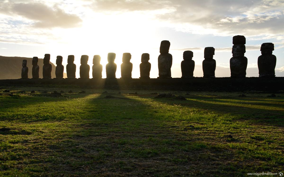 Ahu Tongariki, Isla de Pascua