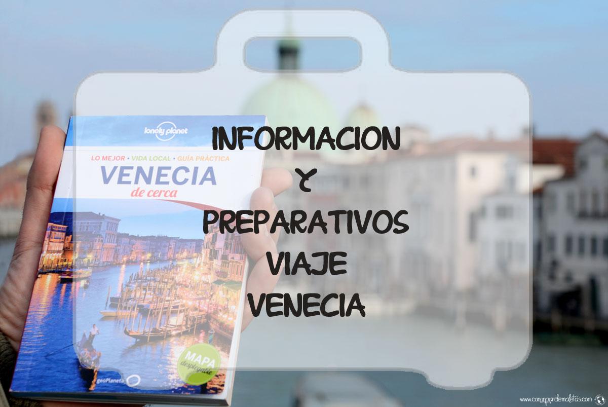 Información viaje Venecia