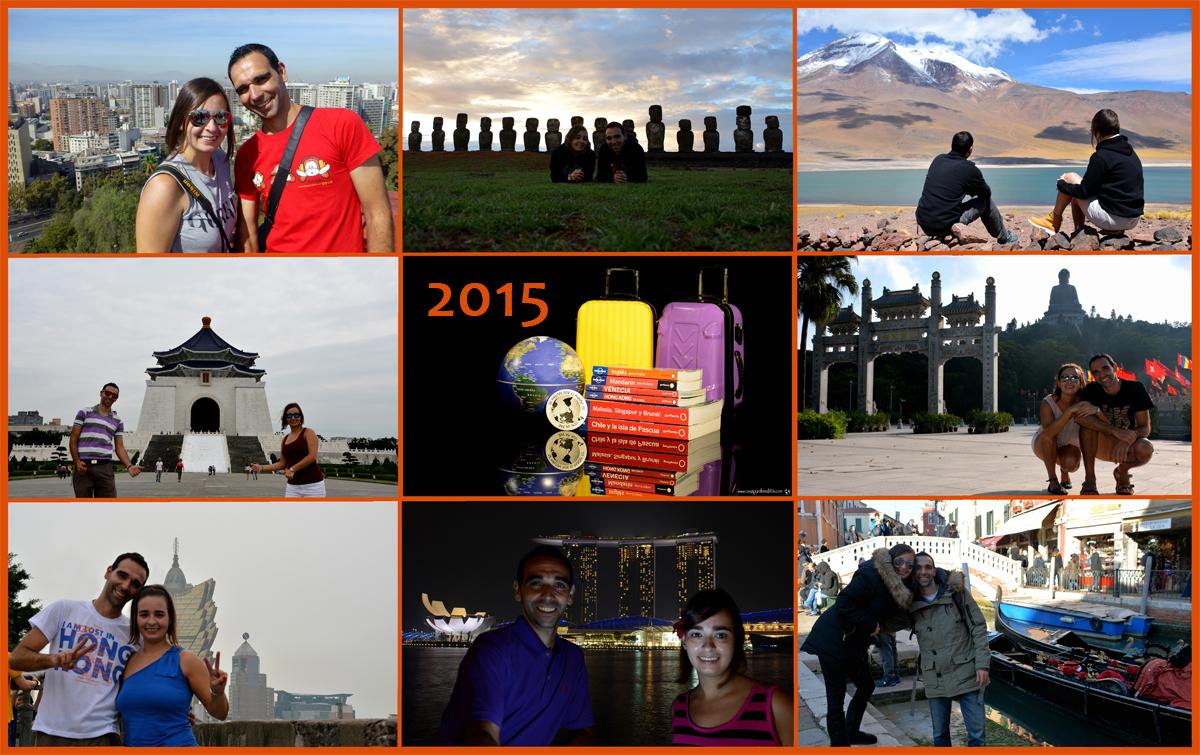 Nuestro año 2015 viajero en imágenes
