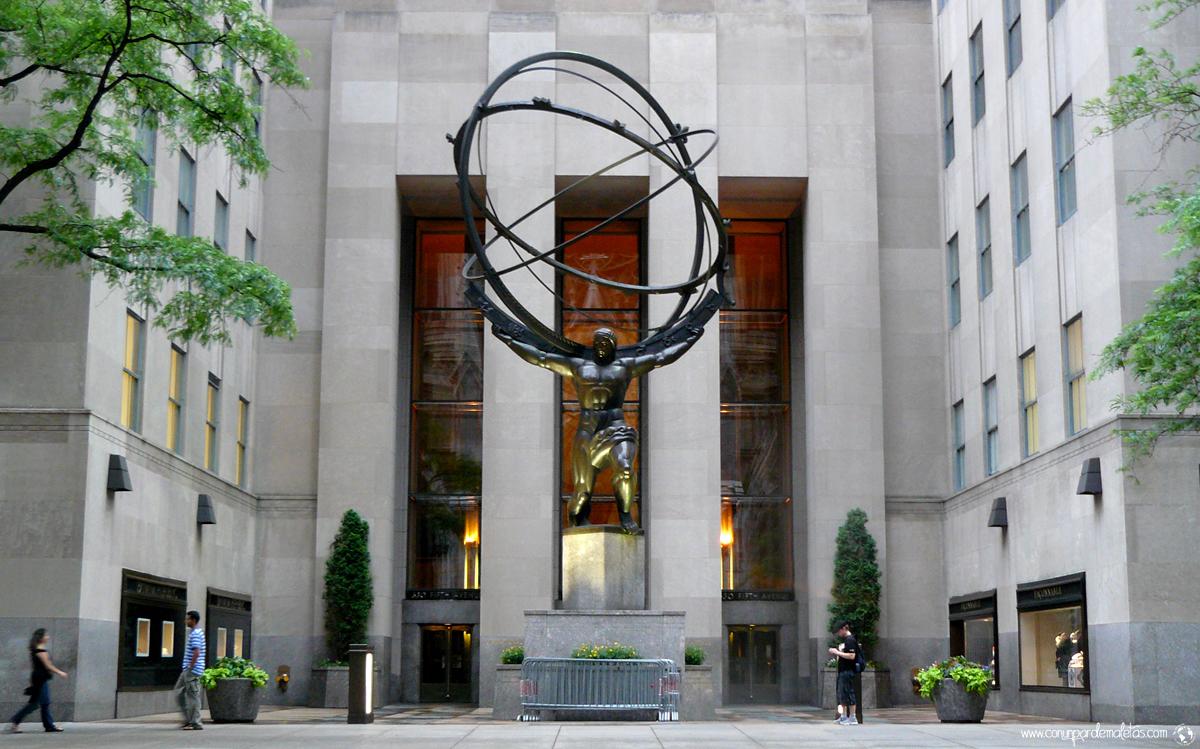 Atlas, Rockefeller Center, New York
