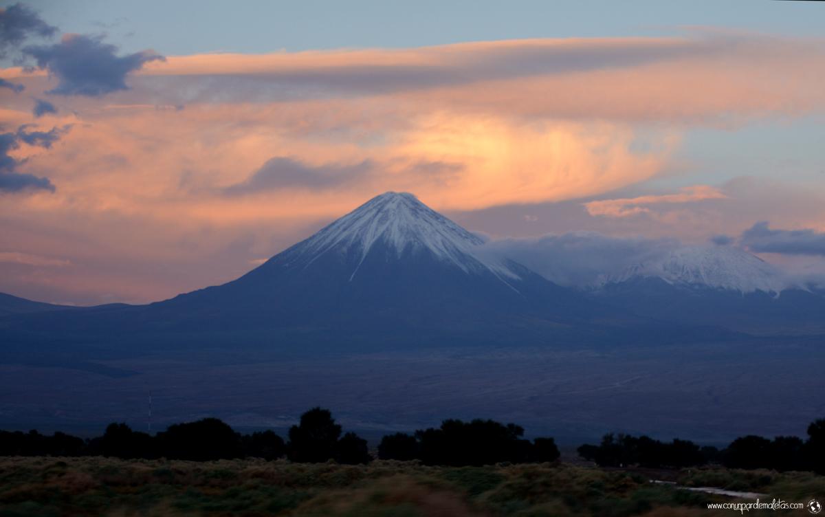 Volcán Licancabur, Chile y Bolivia