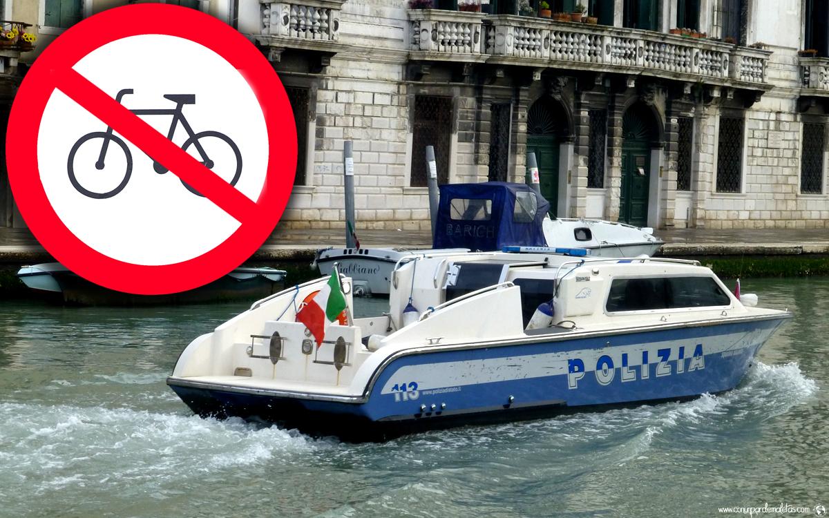 Prohibido bicicletas, Venecia