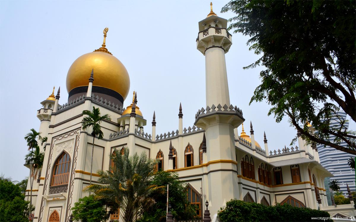 Mezquita del Sultán, barrio árabe de Singapur