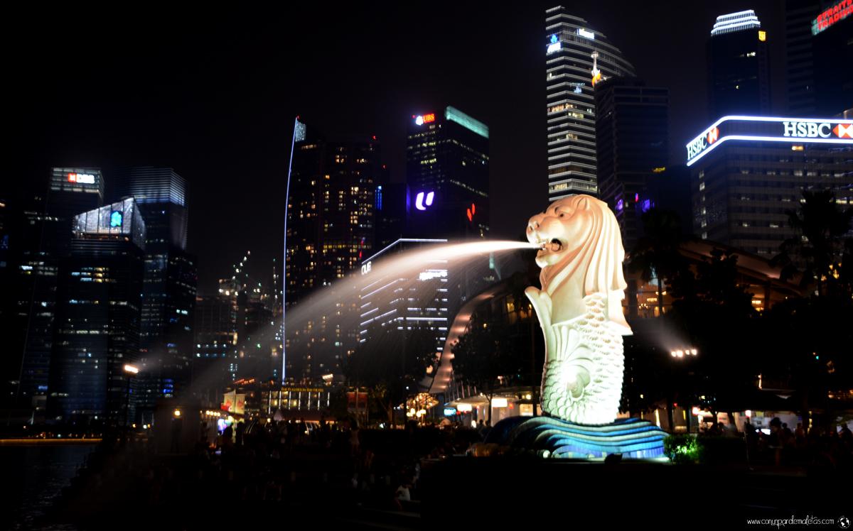Merlion, icono de Singapur