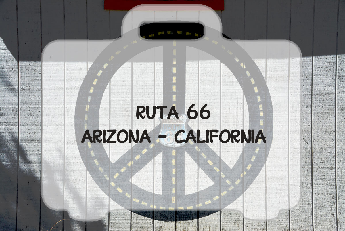 Ruta 66 de Arizona a California
