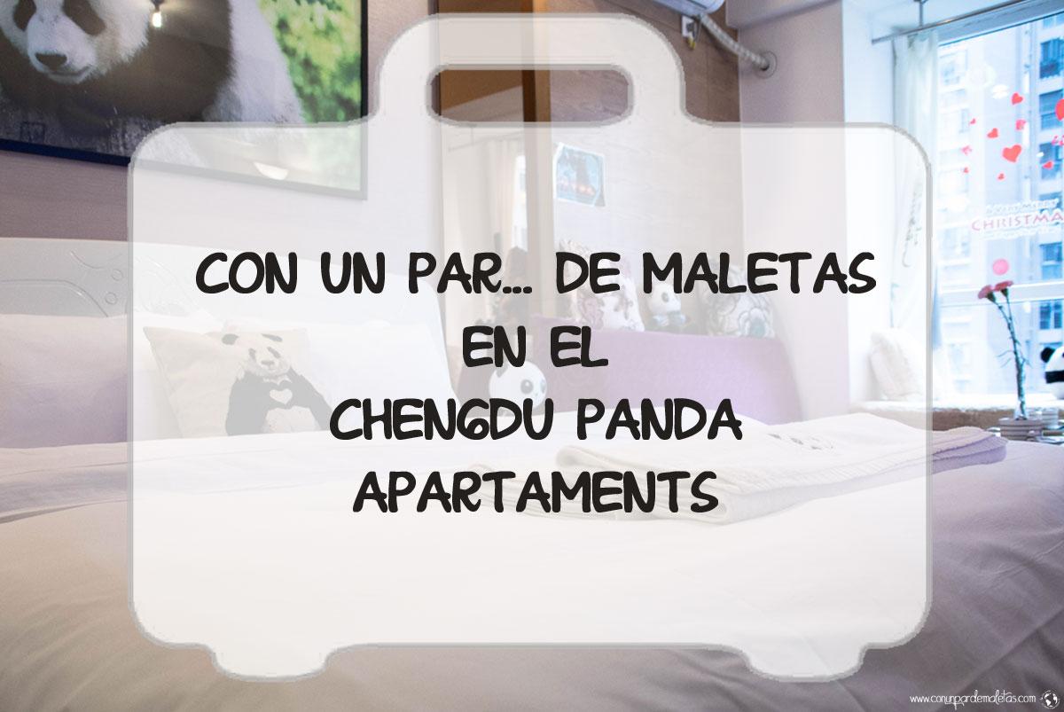 Apartamentos con temática PANDA en Chengdu