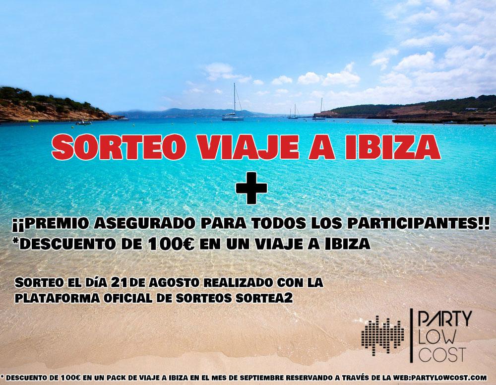 Sorteo viaje a Ibiza para 2 personas