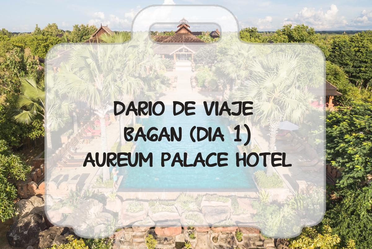 Hotel de lujo entre las pagodas de Bagan