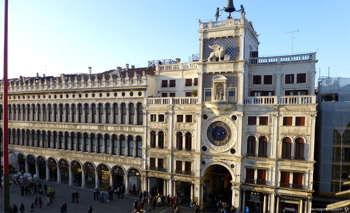 Torre del reloj, Venecia | Conunpardemaletas